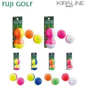 在庫限り 特価品 kasco キャスコ KIRALINE キラライン ゴルフボール 1ダース|fujigolf-kyoto