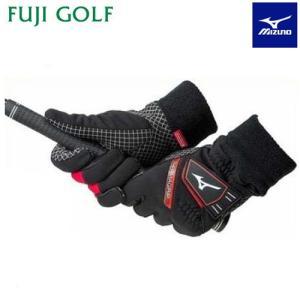MIZUNO ミズノ THERMA GRIP サーマグリップ メンズ ゴルフグローブ(両手用) プレスサーモ手袋 5MJMB652|fujigolf-kyoto