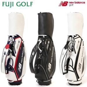 キャディバッグ ユニセックス 数量限定 new balance golf ニューバランス ゴルフ 012-8980004 UNISEX 2018年AWモデル|fujigolf-kyoto