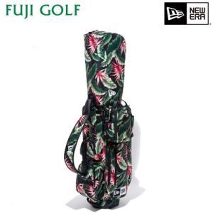ゴルフ キャディバッグ NEW ERA Golf ニューエラ ゴルフ キャディーバッグ ボタニカル ベーシックポーチ付き 完全数量限定 2019年モデル|fujigolf-kyoto