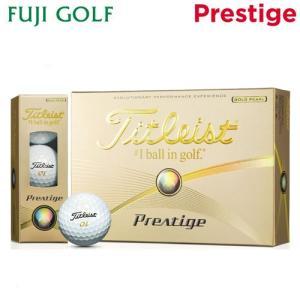 在庫限り 特価品 ゴルフボール Titleist タイトリスト Prestige プレステージ ゴルフボール 1ダース 2016年モデル|fujigolf-kyoto