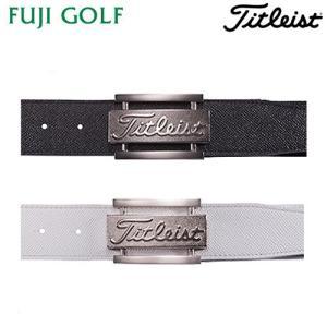 ゴルフ ベルト メンズ Titleist タイトリスト ツアーバックルベルト AABT71|fujigolf-kyoto