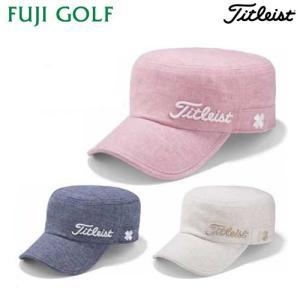 ゴルフ キャップ Titleist タイトリスト ウィメンズ リネンワークキャップ HJ8LWL 全3色 レディース キャップ fujigolf-kyoto