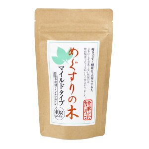 メグスリノキ茶 健康茶マイルドタイプ40g|fujigreen