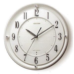 RHYTHM リズム時計 高級掛時計 電波時計RHG-M101 4MY789HG03|fujii-tokeiten