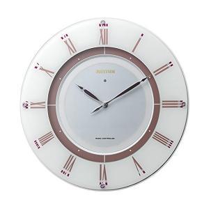 RHYTHM リズム時計 高級掛時計 ソーラー電波時計 RHG−M003 4MY842HG03|fujii-tokeiten