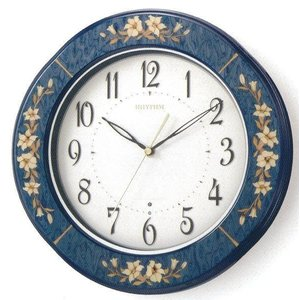 RHYTHM リズム時計 高級掛時計 電波時計RHG-M107-04|fujii-tokeiten