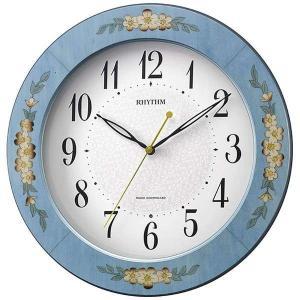 CITIZENリズム時計 Rhythm 象嵌仕上電波掛時計 8MY521SR04|fujii-tokeiten