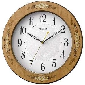 CITIZENリズム時計 Rhythm 象嵌仕上電波掛時計 8MY521SR06|fujii-tokeiten