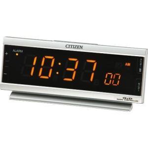 CITIZEN シチズン 電波めざまし時計 パルデジットピュア|fujii-tokeiten