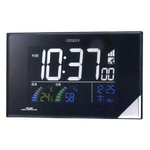 CITIZEN シチズン 掛置兼用 電波めざまし時計 パルデジットネオン119|fujii-tokeiten