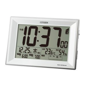 CITIZEN シチズン 電波めざまし時計 パルデジットワイドDL|fujii-tokeiten