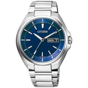 シチズン腕時計 ソーラー電波時計 アテッサAT6050-54...