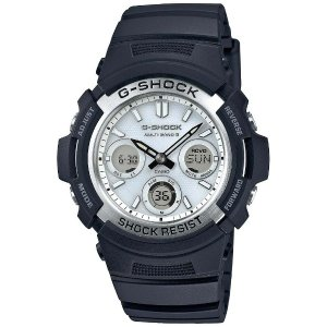 CASIO Gショック カシオ 腕時計ソーラー電波時計 デジタル×アナログAWG-M100S-7AJF|fujii-tokeiten