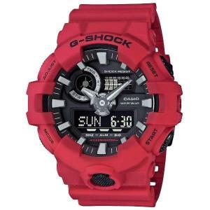 CASIO Gショック カシオ腕時計アナログ/デジタルコンビネーションモデルシリーズGA-700-4AJF(ジーショック G-SHOCK)|fujii-tokeiten