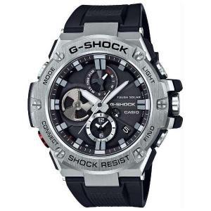 CASIO Gショック カシオ腕時計ソーラー時計 Gスチール GST-B100-1AJF|fujii-tokeiten