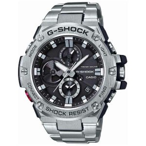 CASIO Gショック カシオ腕時計ソーラー時計 Gスチール GST-B100D-1AJF|fujii-tokeiten