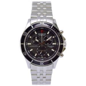 送料無料 スイスミリタリー腕時計 フラッグシップメンズML320 fujii-tokeiten