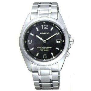 シチズン 電波ソーラー時計 電波腕時計 レグノ RS25-0...