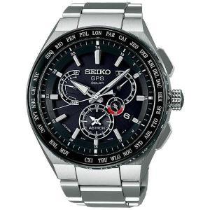 SEIKO ASTRONセイコー腕時計 アストロン エグゼクティブライン デュアルタイム チタニウムモデル GPS衛星電波時計SBXB123|fujii-tokeiten