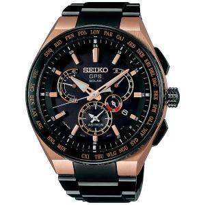 SEIKO ASTRONセイコー腕時計 アストロン エグゼクティブライン デュアルタイム チタニウムモデル GPS衛星電波時計SBXB126|fujii-tokeiten