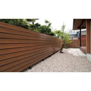 E木目調樹脂フェンス 板 45サイズ リアルウッド|fujiju