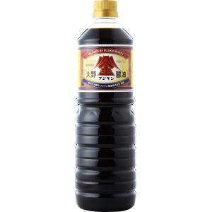 大野うまくち醤油 1000ml PETボトル(こいくち特撰)|fujikin-shoyu
