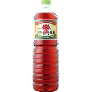 大野醤油(うすくち) 1000ml PETボトル|fujikin-shoyu