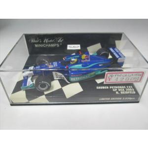 ミニチャンプス 1/43 ザウバーC21'02 N ハイドフェルド USA GP|fujikyouzai