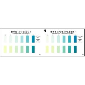 パックテスト アンモニウム|fujikyouzai