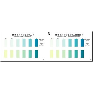 パックテスト[10回分入り]  アンモニウム|fujikyouzai