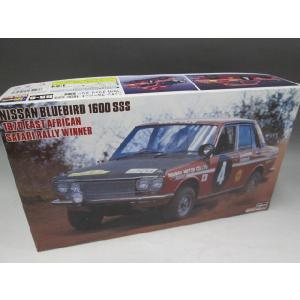 ハセガワ 1/24 HR-6 日産 ブルーバード 1600 SSS 1970 東アフリカサファリ ウィナー|fujikyouzai
