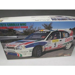 ハセガワ 1/24 CR-24 トヨタ カローラ WRC[1998 モンテカルロラリー]|fujikyouzai