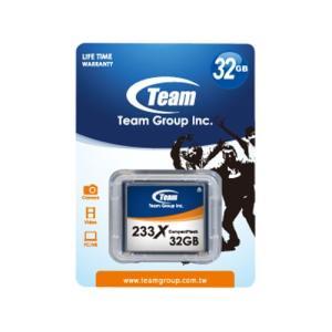 コンパクトフラッシュ 233倍速 32GB TEAM製/10...