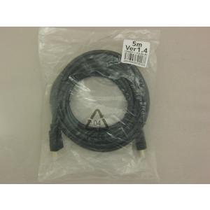 HDMIケーブル 5m 1.4規格対応/ノーブランドで高コスパ【メール便C利用可】|fujilata