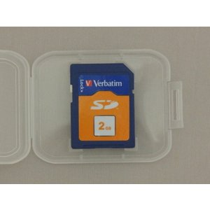 SD メモリカード 2GB バルク品 Verbatim/ SDカード 【メール便B利用可】