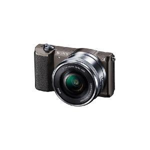 【メーカー1年保証】デジタル一眼カメラ ILCE-5100L T α5100 パワーズームレンズキット ブラウン|fujimasushop