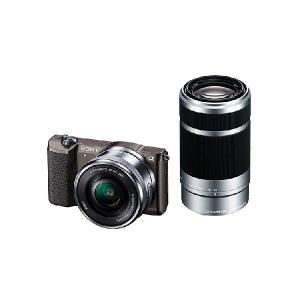 【メーカー1年保証】デジタル一眼カメラ ILCE-5100Y T α5100 ダブルズームレンズキット ブラウン|fujimasushop