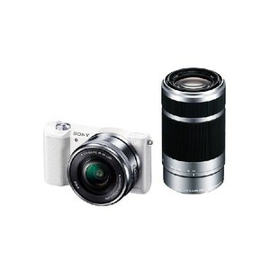 【メーカー1年保証】デジタル一眼カメラ ILCE-5100Y W α5100 ダブルズームレンズキット ホワイト|fujimasushop