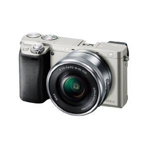 【メーカー1年保証】デジタル一眼カメラ ILCE-6000L S α6000 パワーズームレンズキット シルバー|fujimasushop