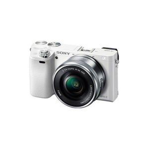【メーカー1年保証】デジタル一眼カメラ ILCE-6000L W α6000 パワーズームレンズキッ...
