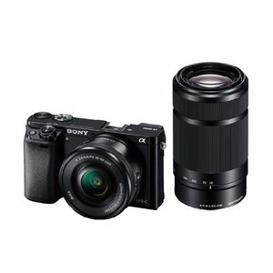 【安心のメーカー一年保証】デジタル一眼カメラ ILCE-6000Y B α6000 ダブルズームレンズキット ブラック|fujimasushop