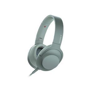 【メーカー一年保証】SONY ヘッドホン h.ear on 2 MDR-H600A ホライズングリーン ハイレゾ音源対応 100kHz再生を実現|fujimasushop