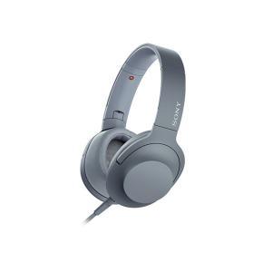 【メーカー一年保証】SONY ヘッドホン h.ear on 2 MDR-H600A ムーンリットブルー ハイレゾ音源対応 100kHz再生を実現|fujimasushop