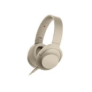 【メーカー一年保証】SONY ヘッドホン h.ear on 2 MDR-H600A ペールゴールド ハイレゾ音源対応 100kHz再生を実現|fujimasushop