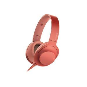 【メーカー一年保証】SONY ヘッドホン h.ear on 2 MDR-H600A トワイライトレッド ハイレゾ音源対応 100kHz再生を実現|fujimasushop