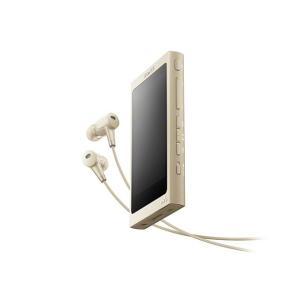 【メーカー1年保証】SONY ポータブルプレーヤー WALKMAN NW-A45HN ペールゴールド 16GB ハイレゾ音源対応モデル|fujimasushop
