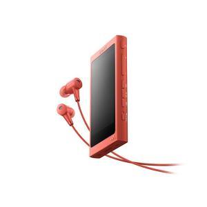 【メーカー1年保証】SONY ポータブルプレーヤー WALKMAN NW-A45HN トワイライトレッド 16GB ハイレゾ音源対応モデル|fujimasushop