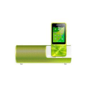SONY ポータブルプレーヤー NW-S14K グリーン 8GB スピーカー付属 Bluetooth対応、最長77時間再生のスタミナ!【メーカー1年保証】 fujimasushop