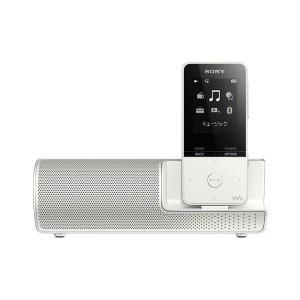 SONY ポータブルプレーヤー NW-S315K ホワイト 16GB スピーカー付属モデル、最長52時間再生のスタミナ!【メーカー1年保証】|fujimasushop